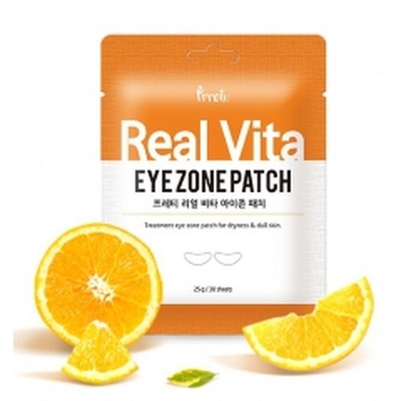 Prreti Антивозрастные патчи с ниацинамидом и витаминами 30шт Real Vita Eye Zone Patch
