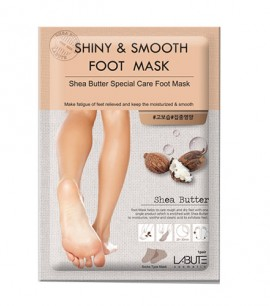 Заказать онлайн Labute Маска для ног с маслом ши Shiny&Smooth Foot Mask в KoreaSecret