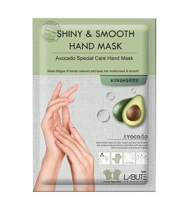 Заказать онлайн Labute Маска для рук с экстрактом авокадо Shiny&Smooth Hand Mask в KoreaSecret