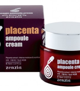 Заказать онлайн Zenzia Крем с экстрактом плаценты Placenta Ampoule Cream в KoreaSecret