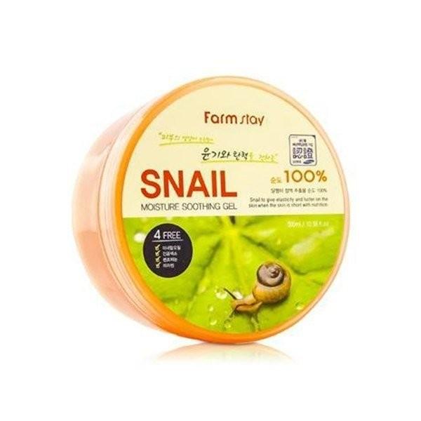Farmstay Универсальный гель с муцином улитки Moisture Soothing Gel Snail