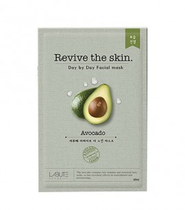 Заказать онлайн Labute Маска-салфетка с авокадо Revive the skin Avocado Mask в KoreaSecret