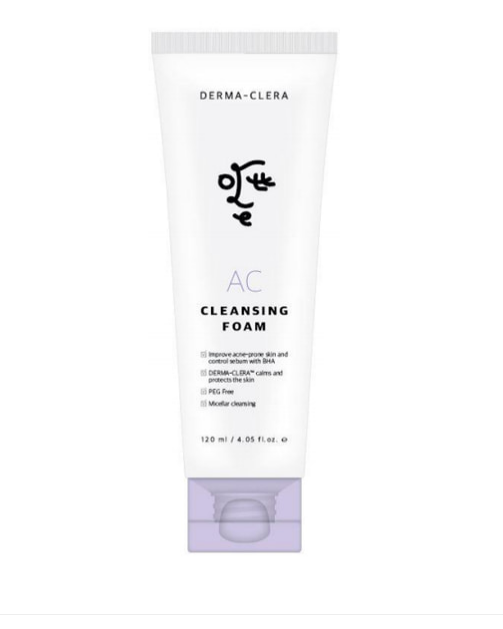 Ottie Очищающая пенка для проблемной кожи Derma-Clera AC Cleansing Foam