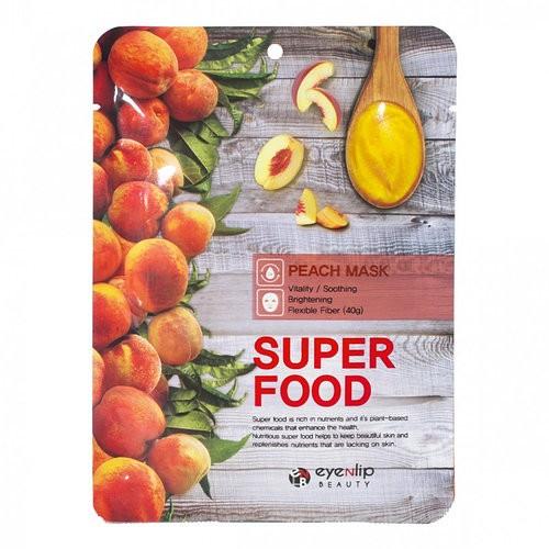 Eyenlip Маска-салфетка с экстрактом персика Super Food Peach Mask