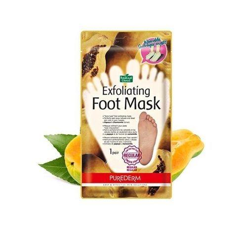 Purederm Пилинг для ног до 27см Botanical Choice Exfoliating Foot Mask