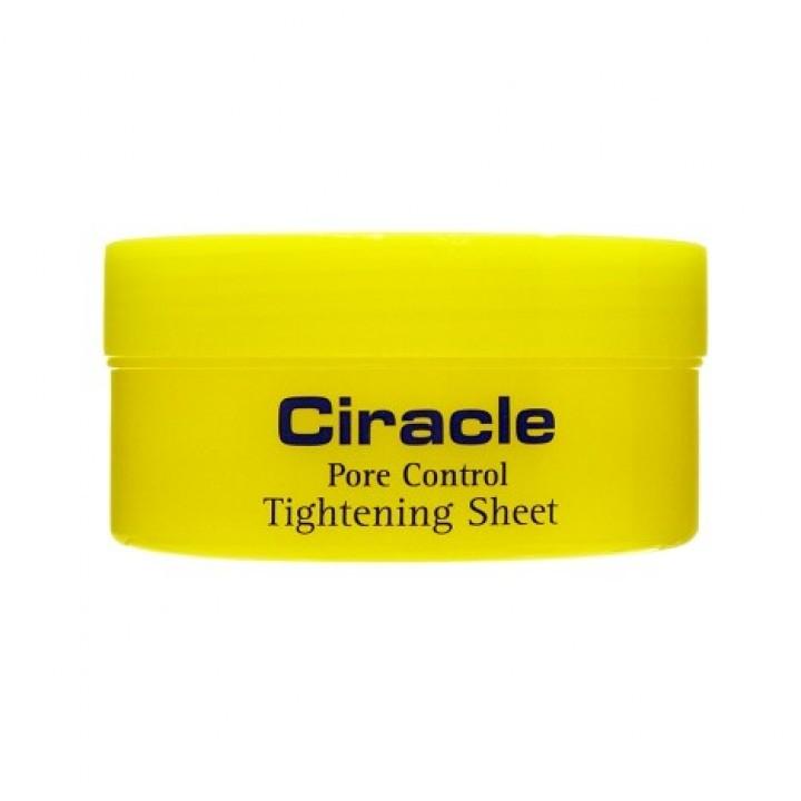 Ciracle Салфетки для сужения пор Pore Control Tightening Sheet