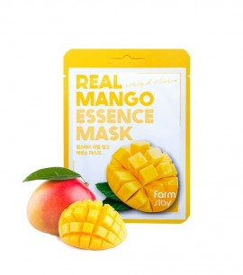Заказать онлайн FarmStay Маска-салфетка с манго Real Mango Essence Mask FarmStay в KoreaSecret