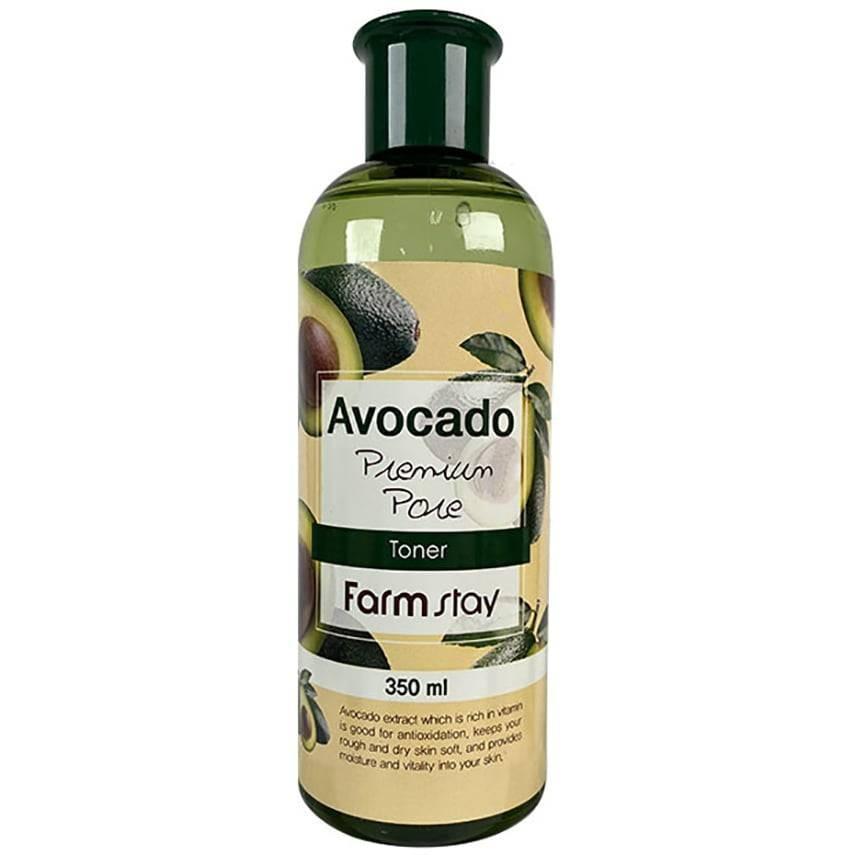FarmStay Питательный тонер для сухой кожи  Avocado Premium Pore Toner