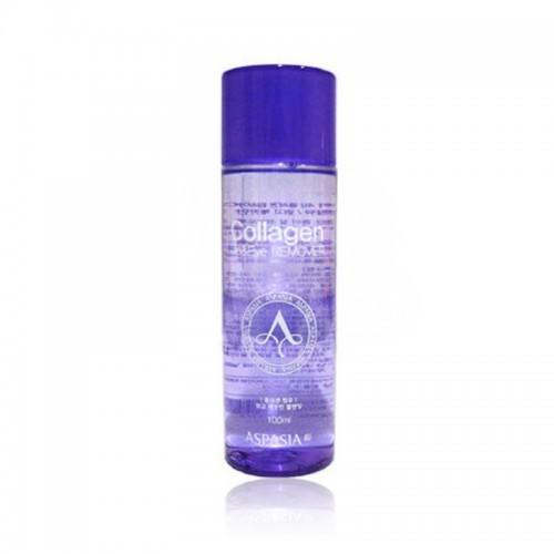Aspasia Средство для удаления макияжа с глаз и губ Collagen Lip & Eye Makeup Remover