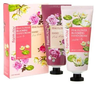 Farmstay Набор кремов для рук с экстрактами цветочных лепестков Pink Flower Blooming Hand Cream