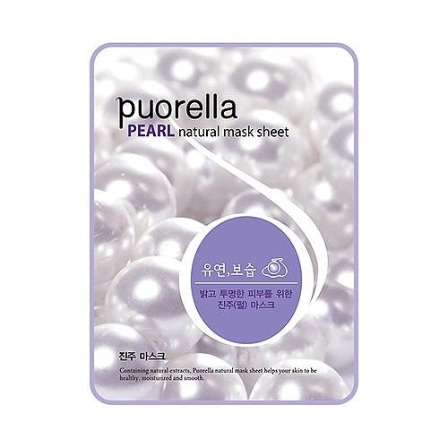 Baroness Маска-салфетка с жемчугом Puorella Pearl Natural Mask Sheet