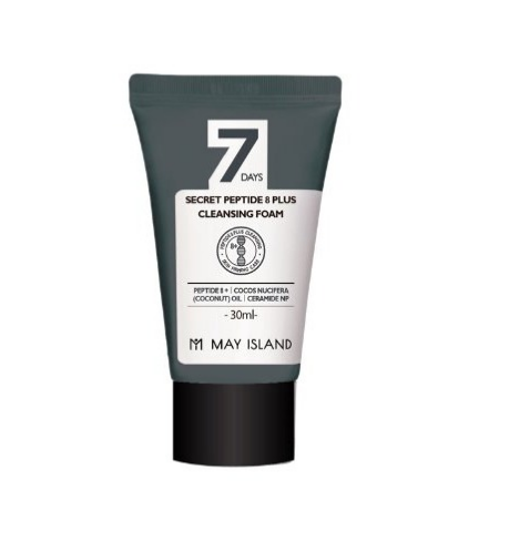 May Island Очищающая пенка с пептидным комплексом 7Days Secret Peptide 8 Plus Cleansing Foam