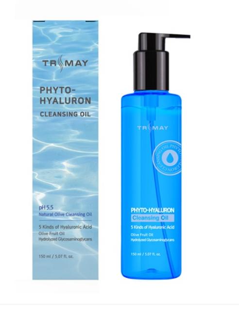 Trimay Натуральное гидрофильное масло с гиалуроновой кислотой Phyto-Hyaluron Cleansing Oil