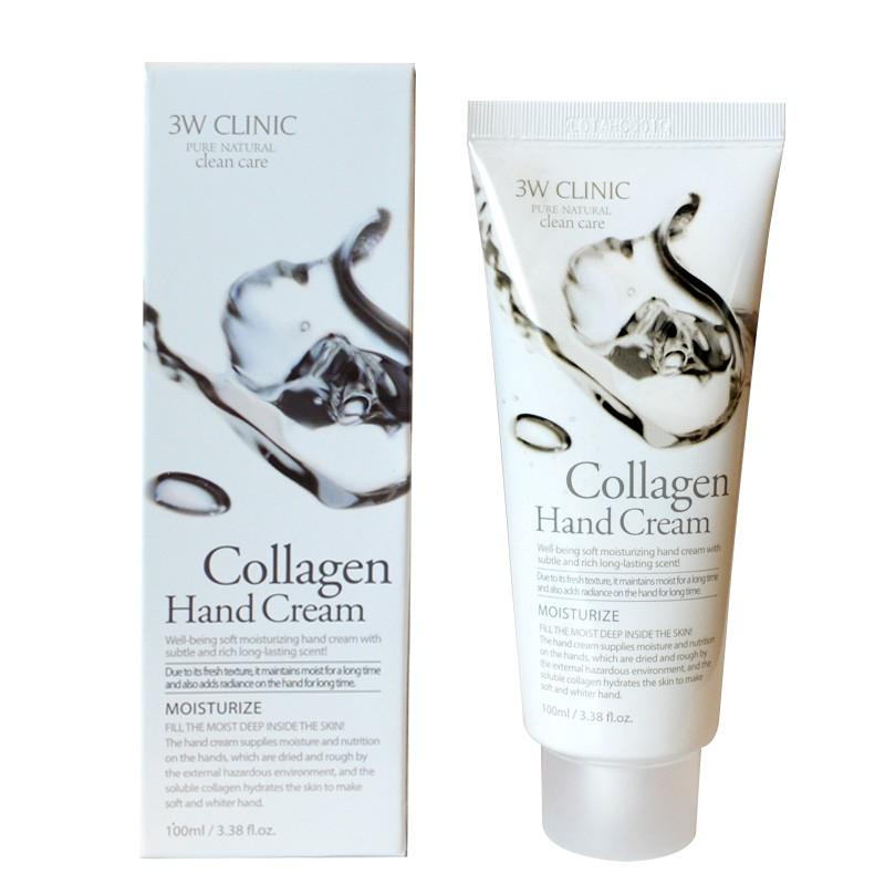 3W Clinic Крем для рук с коллагеном Collagen Hand Cream