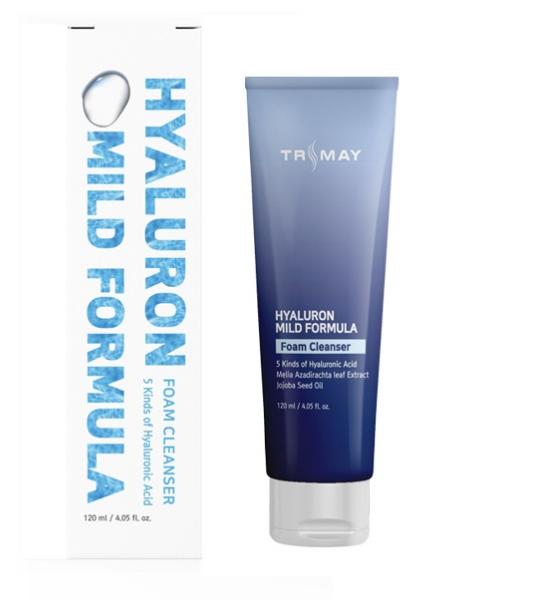 Trimay Очищающая пенка с гиалуроновой кислотой Hyaluron Mild Formula Foam Cleanser