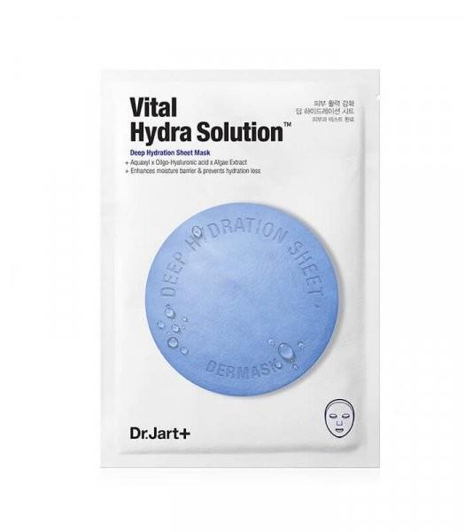 Dr.Jart+ Маска-салфетка интенсивного увлажнения  Vital Hydra Solution
