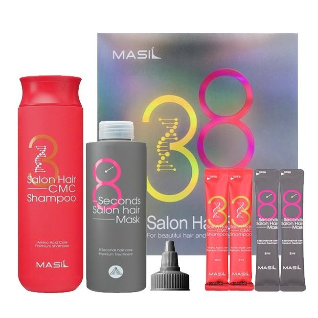 Masil Набор для восстановления волос с кератином и коллагеном Salon Hair set