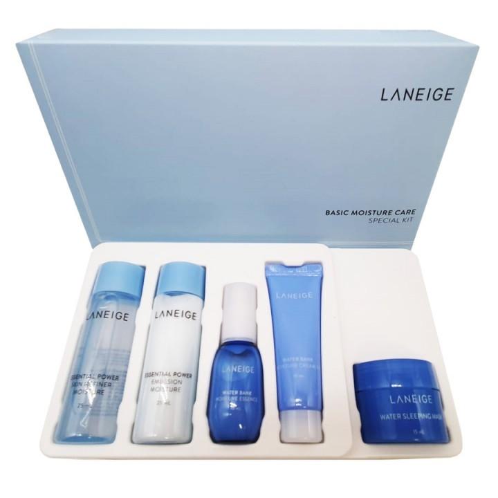 Laneige Набор миниатюр увлажняющий Basic Moisture Care Special Kit (5 items)