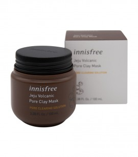 Заказать онлайн Innisfree Маска для лица на основе вулканической глины Jeju Volcanic Pore Clay Mask в KoreaSecret
