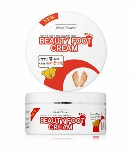 Заказать онлайн Medi Flower Крем для ног Beauty Foot Cream в KoreaSecret